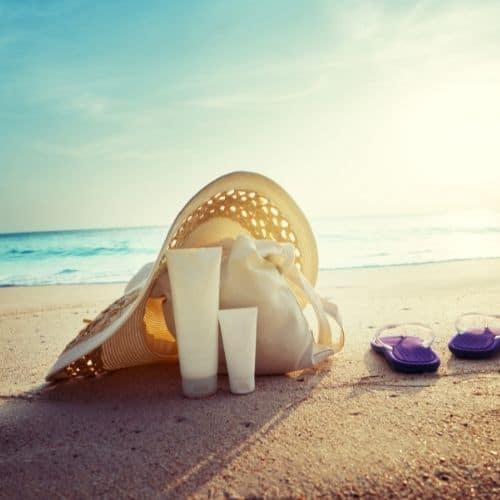 psoriasis et soleil en été