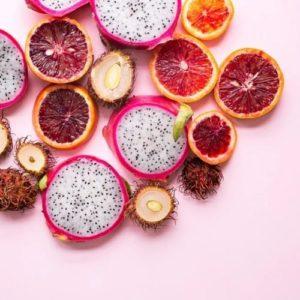 fruits entiers pour la santé de la peau