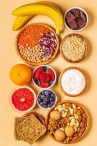 Alimentation variée pour la santé de la peau