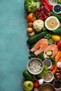 Alimentation diversifiée pour la santé de la peau