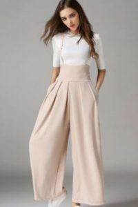pantalon large élégant