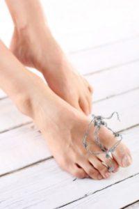 diagnostic psoriasis pieds