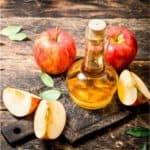 acné masque au vinaigre de cidre et pommes