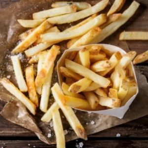 frites graisses mauvaises pour l'acné et les boutns