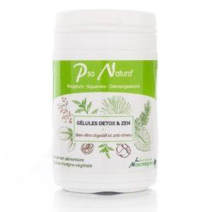 compléments alimentaires Detox et Zen Pso Natura en cas d'eczéma